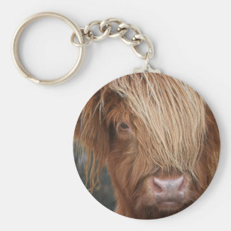 Scottish Highland Cows - Scotland Keychain