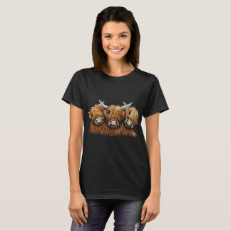 Scottish Highland Cows 'THE YOUNG ONES' T-Shirt