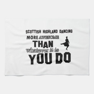 scottish highland dance more awesome than whatever kitchen towel