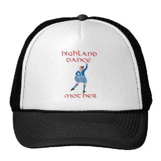 Scottish Highland Dance Mother Blue Trucker Hat