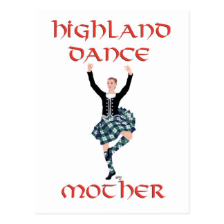 Scottish Highland Dance Mother Postcard