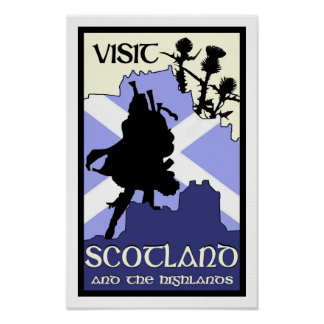 Scottish Highland Poster