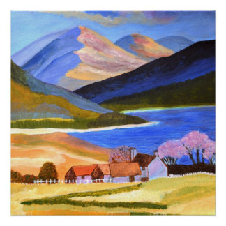 Scottish Highlands2 Paper Poster Perfect Poster