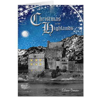 Scottish Highlands Christmas Card