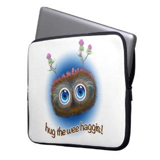 Scottish 'Hoots Toots Haggis' Laptop Sleeve