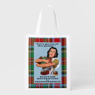 Scottish Housewives for Independence Tartan Bag