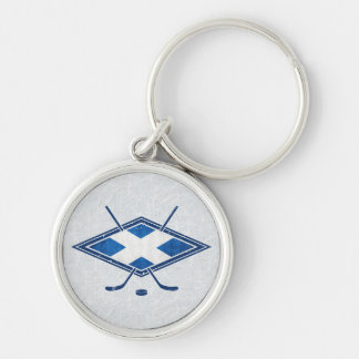 Scottish Ice Hockey Flag Keyring