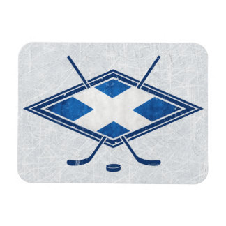 Scottish Ice Hockey Flag Magnet