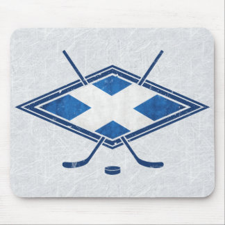 Scottish Ice Hockey Flag Mousemat Mouse Pad