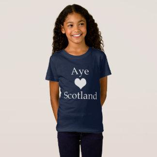 Scottish Independence Aye Heart Scotland T-Shirt