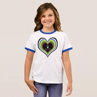Scottish Independence Bright Aye Heart Scotland Ringer T-Shirt