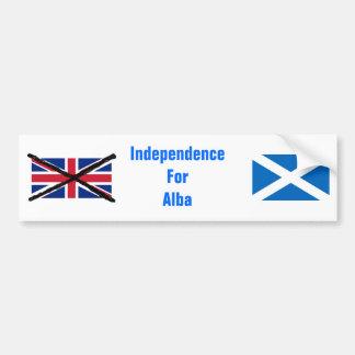 Scottish Independence bumper sticker