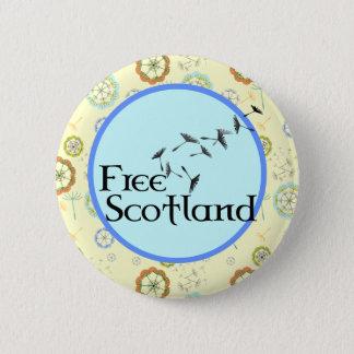 Scottish Independence Dandelion Badge 2 Inch Round Button