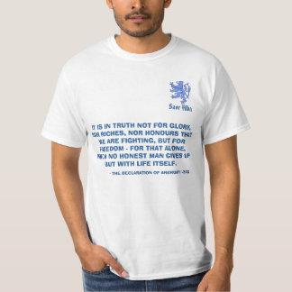 Scottish Independence Declaration of Arbroath Lion T-Shirt
