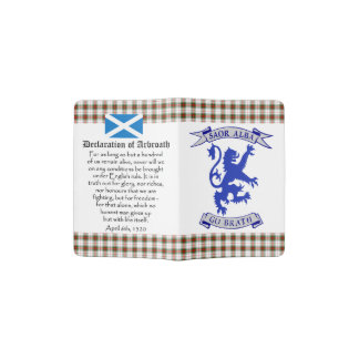 Scottish Independence Declaration of Arbroath Passport Holder