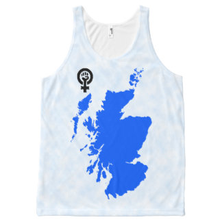 Scottish Independence Feminist Symbol Map