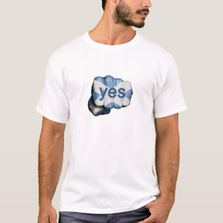 Scottish Independence Fist T-Shirt