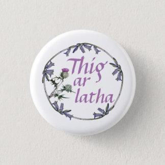 Scottish Independence Gaelic Bluebell  Button