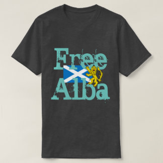 Scottish Independence Gaelic Free Alba Lion T-Shirt