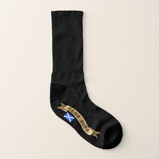 Scottish Independence Gaelic Saor Alba Flag Socks
