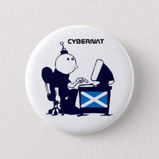 Scottish Independence Indy Cybernat Button Badge