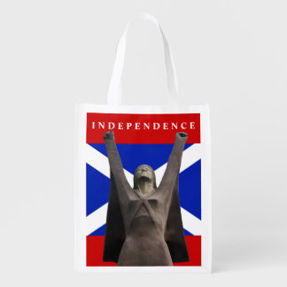 Scottish Independence La Pasionaria Grocery Tote