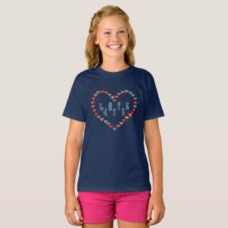 Scottish Independence Love Aye Heart T-Shirt