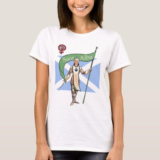 Scottish Independence Peace Feminist T-Shirt