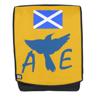 Scottish Independence Saltire Aye Bird