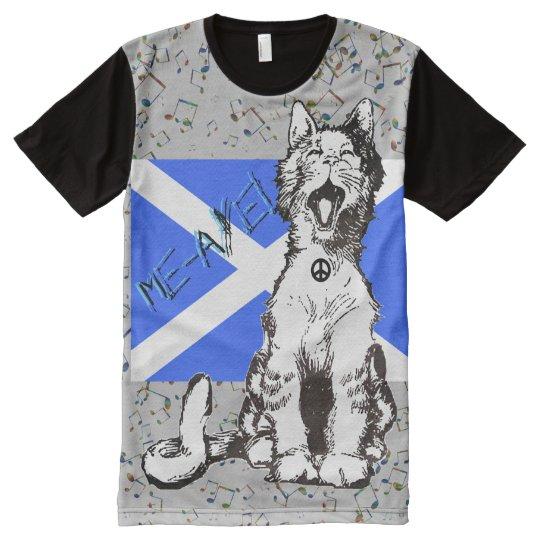 Scottish Independence Saltire Cat