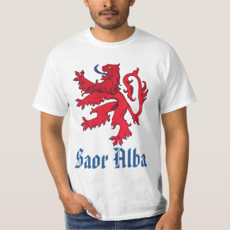 Scottish Independence Saor Alba Red Lion T-Shirt