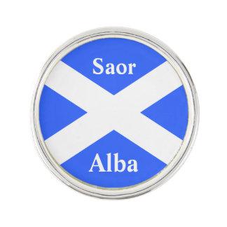 Scottish Independence Saor Alba Scotland Flag Lapel Pin