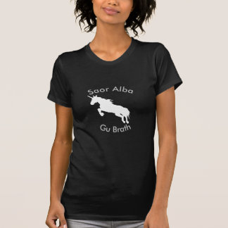Scottish Independence Saor Alba Unicorn T-Shirt