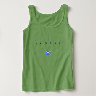 Scottish Independence Saorsa Alba Tank Top