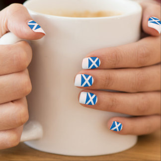 Scottish Independence Scotland Flag Minx Nail Art