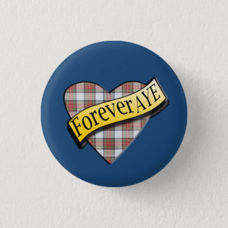 Scottish Independence Tartan Forever Aye Badge 1 Inch Round Button