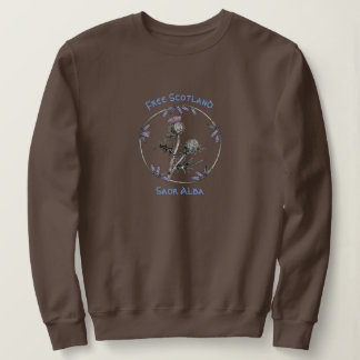 Scottish Independence Thistle Saor Alba Sweatshirt
