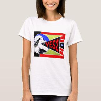 Scottish Independence Yes2 Yell Girl T-Shirt