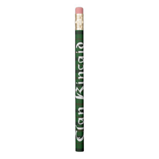 Scottish Kincaid Clan Tartan Plaid Pencil