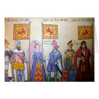 scottish kings card