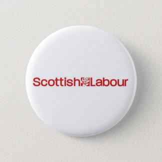Scottish Labour 2 Inch Round Button