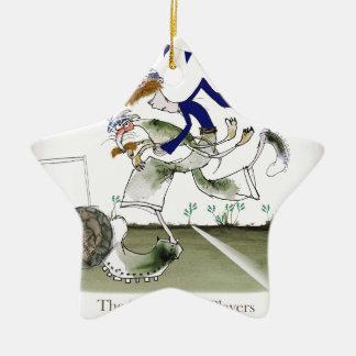 scottish left wing footballer ceramic ornament