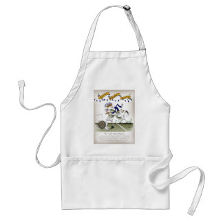 scottish left wing footballer standard apron
