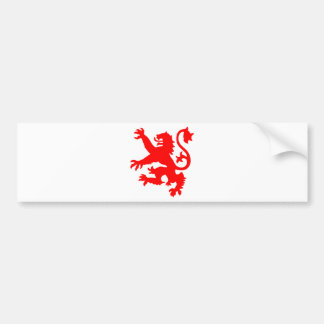 Scottish Lion Bumper Sticker
