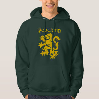 Scottish Lion Rampant Symbol Hoodie