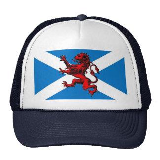 scottish lion trucker hat