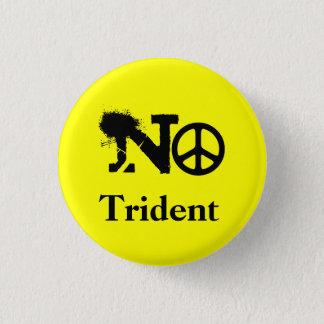 Scottish No Trident Button Badge