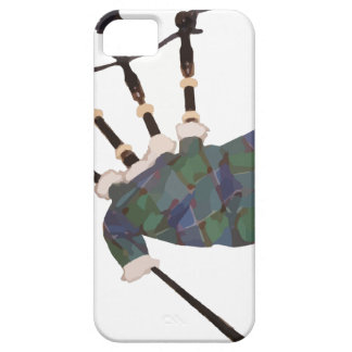 scottish plaid bagpipes case for the iPhone 5