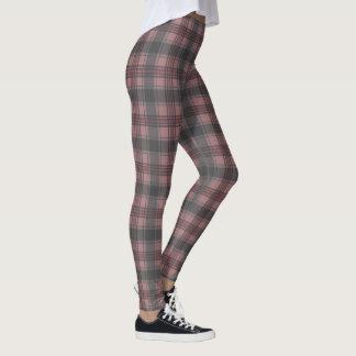 Scottish plaids crimson leggings