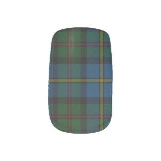Scottish Pride Minx Nail Art